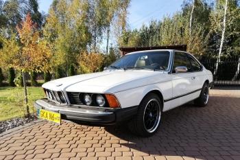 BMW E24 serii 6 do ślubu , Samochód, auto do ślubu, limuzyna Pelplin