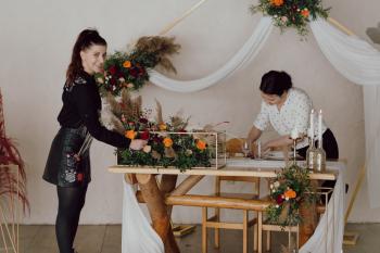 Love Decorations - usługi florystyczne i dekoratorskie, Dekoracje ślubne Szczekociny