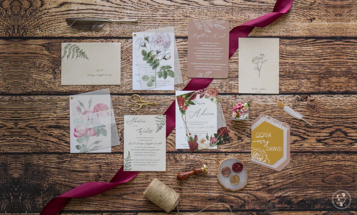PEONY&PAPER zaproszenia ślubne, Wałcz - zdjęcie 1