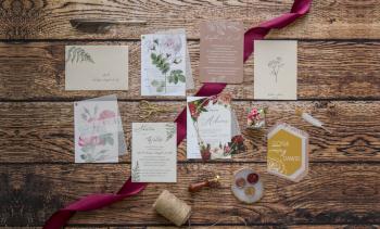PEONY&PAPER zaproszenia ślubne, Zaproszenia ślubne Barwice