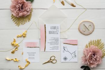 PEONY&PAPER zaproszenia ślubne