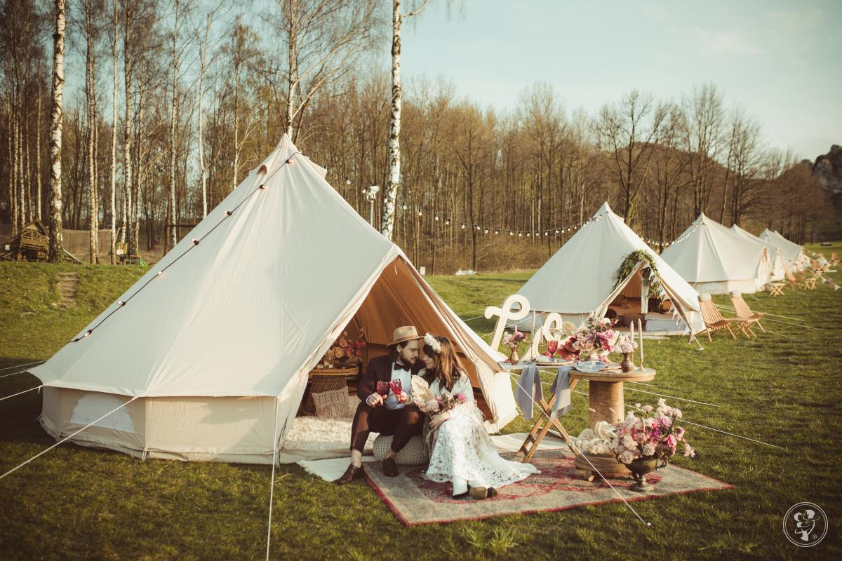Księżycowe Pole - Mobilny Glamping - namioty boho noclegowe!, Częstochowa - zdjęcie 1