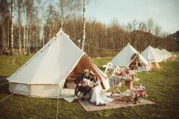 Księżycowe Pole - Mobilny Glamping - namioty boho noclegowe!, Wypożyczalnia namiotów Ustroń