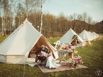 Księżycowe Pole - Mobilny Glamping - namioty boho noclegowe!,  Częstochowa
