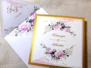 bdesign - Zaproszenia i Dekoracje Ślubne, Zaproszenia ślubne Chrzanów