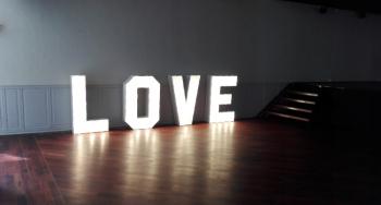 Napis LOVE na twoje wesele, Napis Love Dobra Wielkopolskie