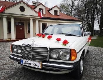 Auto do ślubu # Mercedes # Biały # Retro # Klasyk # Zabytek, Samochód, auto do ślubu, limuzyna Kałuszyn