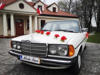 Auto do ślubu # Mercedes # Biały # Retro # Klasyk # Zabytek,  Garwolin
