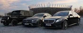 Mercedes S klasa, Audi A8, Lexus GS - Wypożyczalnia Sambor, Samochód, auto do ślubu, limuzyna Skaryszew