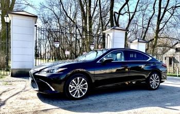Lexus ES Graphite Black 2021 ALUR VIP Line, Samochód, auto do ślubu, limuzyna Józefów