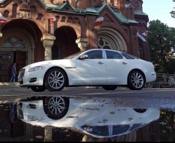 Jaguar XJ, Samochód, auto do ślubu, limuzyna Sosnowiec