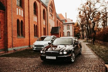 Auto do Ślubu - Klasyczny Jaguar, Samochód, auto do ślubu, limuzyna Prabuty