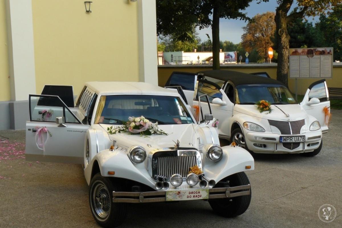 Samochody do slubu,autoszyk limuzyny,wynajem.Excalibur-Chrysler limo., Warszawa - zdjęcie 1