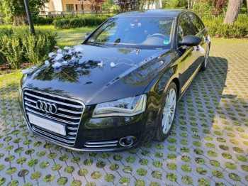 Audi A8 long, Samochód, auto do ślubu, limuzyna Góra Kalwaria