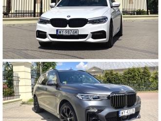 Zawiozę do ślubu:BMW X7 oraz BMW 5 G30,  Siedlce