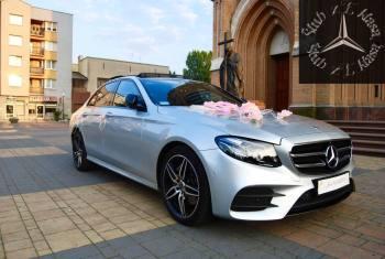 Piękny Mercedes E klasa z Pakietem AMG!, Samochód, auto do ślubu, limuzyna Skaryszew