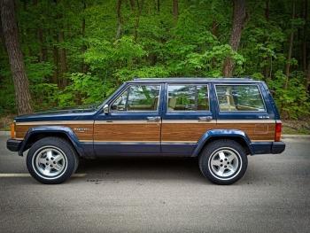 Jeep Wagoneer do ślubu, Samochód, auto do ślubu, limuzyna Łomianki