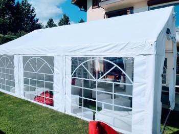 Namiot bankietowy na małe wesele czy komunię, Wypożyczalnia namiotów Piława Górna