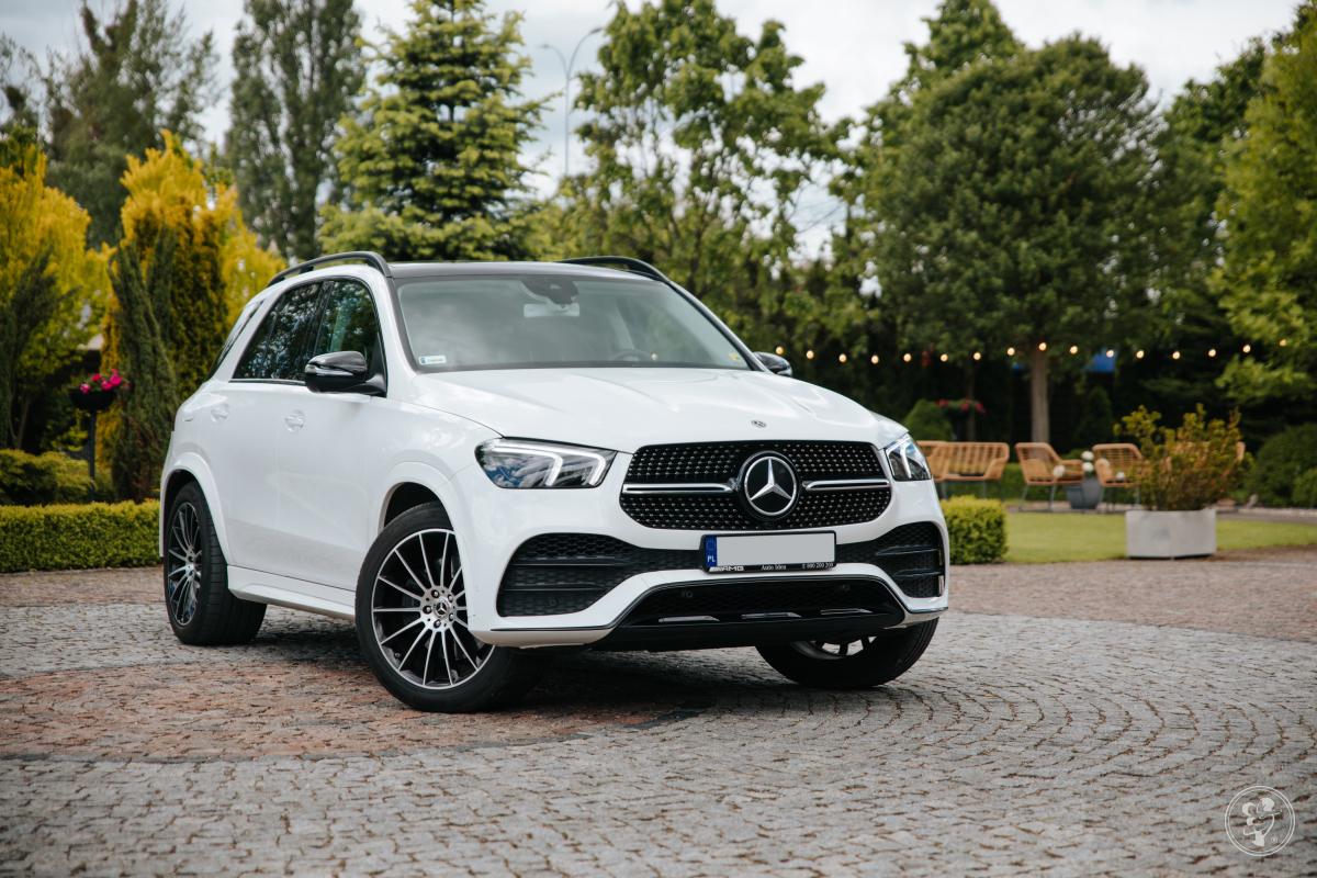 Auto do ślubu Mercedes GLE 2020r biały kolor, Białystok - zdjęcie 1