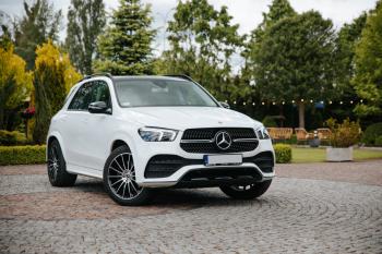 Mercedes GLE 2020r, BMW F30 M-Performance 2014r,VW Passat R-Line 2017r, Samochód, auto do ślubu, limuzyna Dąbrowa Białostocka