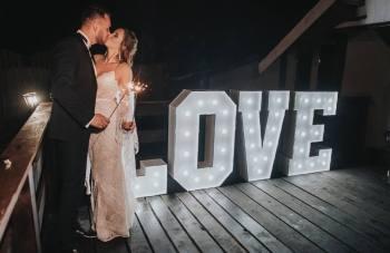 Prestige Bar - Napis Love, Miłość, Napis Love Pasym