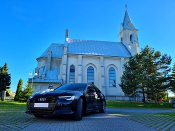 Audi A6 S-line 2020, Samochód, auto do ślubu, limuzyna Kolbuszowa