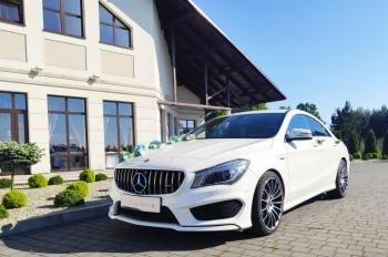 Now odsłona Mercedesa Cla AMG piękne felgi 19 oraz grill Panamerica😄, Samochód, auto do ślubu, limuzyna Niepołomice
