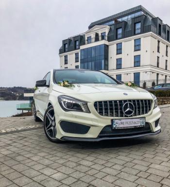 Wynajem limuzyn  Mercedes-Benz do Ślubu, Samochód, auto do ślubu, limuzyna Nowe Brzesko