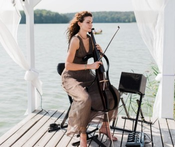 Wedding Cello - oryginalna oprawa ślubu na wiolonczeli elektrycznej, Oprawa muzyczna ślubu Szczawno-Zdrój