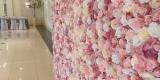 Ścianka kwiatowa tło za Parą Młodą na wesele, Konin - zdjęcie 2