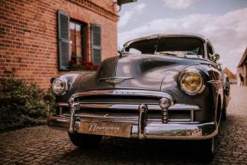 GALIMOTO -WYJĄTKOWE AUTA  CHEVROLET DE LUXE,CORVETTE,MERCEDES ,PICKUP, Samochód, auto do ślubu, limuzyna Chodzież