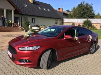Ford Mondeo, Samochód, auto do ślubu, limuzyna Alwernia