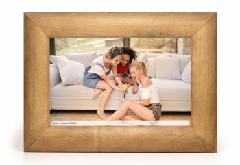 Cyfrowa ramka na zdjęcia 10  Wi-Fi WOOD DESIGN - prezent dla rodziców, Prezenty ślubne Mława