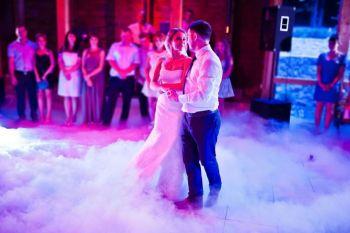 Ciężki Dym Taniec w Chmurach Napis LOVE LED, Ciężki dym Drobin