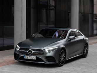 Luksusowy, 340-konny Mercedes-Benz CLS z pakietem AMG-satynowy grafit,  Wrocław
