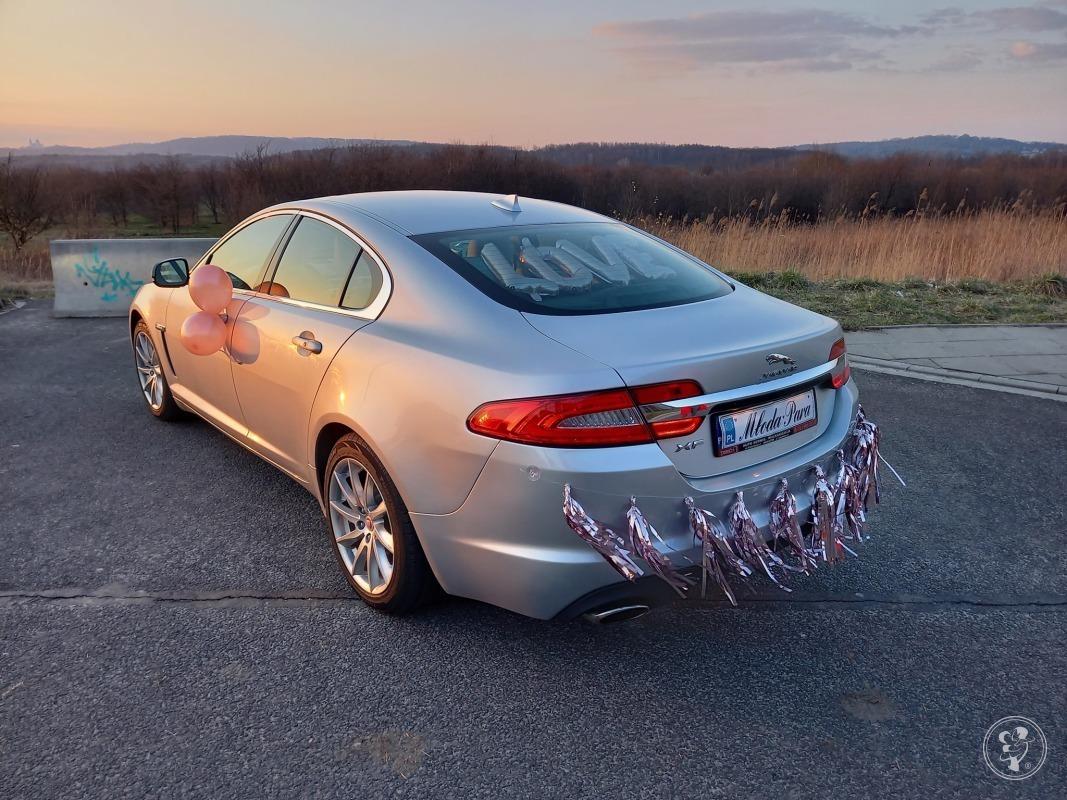 Ekskluzywnym jaguarem XF do ślubu / Indus Silver /, Kraków - zdjęcie 1