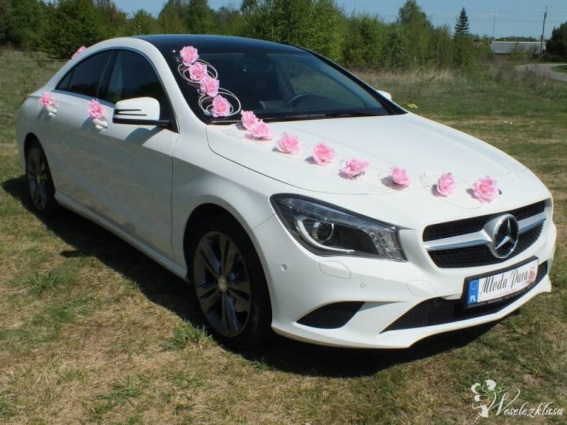 Nowy Piękny Biały Mercedes CLA , Łódź - zdjęcie 1