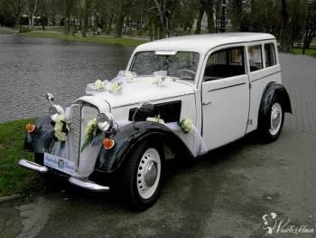Auto zabytkowe DKW F7 z 1937r, Samochód, auto do ślubu, limuzyna Rzepin