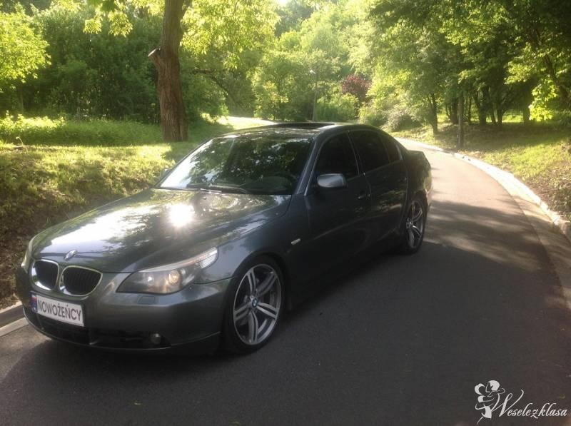 BMW E60, wynajem samochodu do ślubu, Kraków - zdjęcie 1