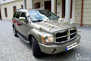 Potężny, amerykański złoty DODGE DURANGO, Samochód, auto do ślubu, limuzyna Bielsko-Biała