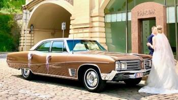BUICK WILDCAT (ELECTRA) 1968r. - KLIMA, samochód zabytkowy, klasyczny, Samochód, auto do ślubu, limuzyna Piaseczno
