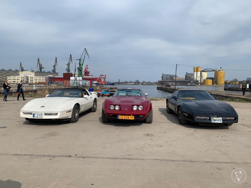 Zabytkowe Corvette do ślubu, Gdańsk - zdjęcie 1