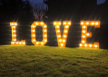 Planeta Zabawy - Drewniany Napis LOVE, Napis Love Bukowno
