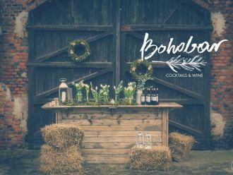 BOHOBAR-barmani na wesele, rustykalny bar, wesele BOHO, BAR BOHO,  Sopot