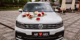 Auto do ślubu Samochód na wesele biały SUV VW Tiguan R-Line, Kielce - zdjęcie 2