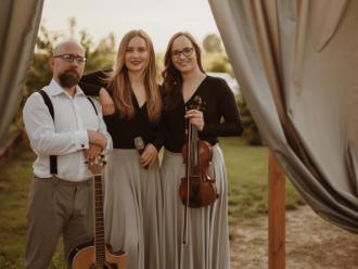 Trio Sedamor - oprawa muzyczna marzeń - WOKAL-SKRZYPCE-GITARA,  Poznań