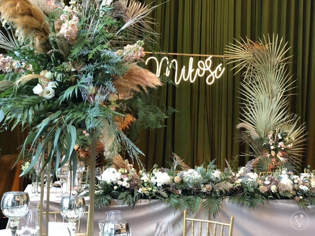 Niebieskie Drzwi- dekoracje aranżacje weselne, wystrój sal, florystyka, Wrocław - zdjęcie 1