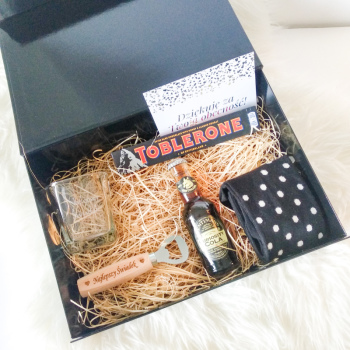 Mini box dla świadka lub na podziękowanie od Feel Comfy, Prezenty ślubne Polkowice