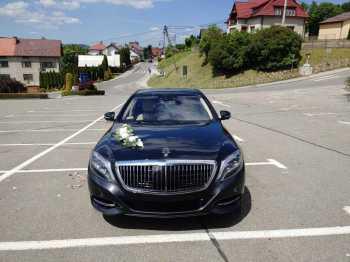 Auto do Ślubu/ Samochód do Ślubu Mercedes Maybach, Samochód, auto do ślubu, limuzyna Pszów