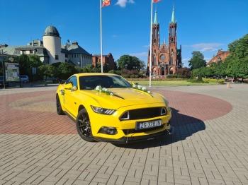 Ford Mustang GT 5.0, Samochód, auto do ślubu, limuzyna Zakroczym